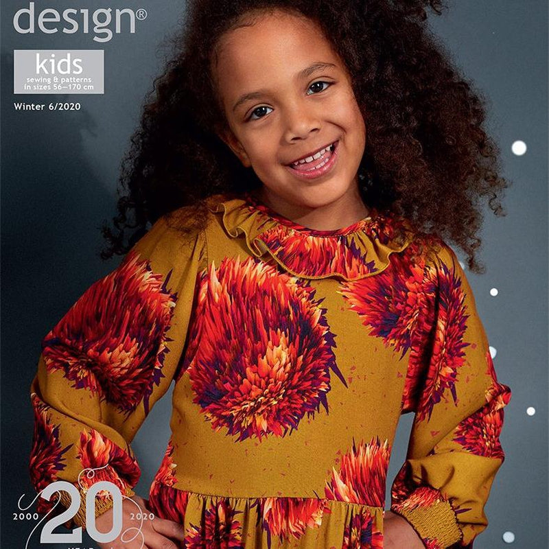 Ottobre Design Magazine Kids Fashion Autumn/winter 6/2020 - Lilly and Mimi Fabric Shop