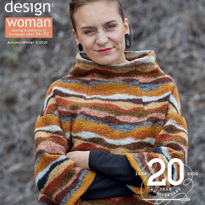 Ottobre Design Magazine Woman Fashion Autumn/winter 5/2020 - Lilly and Mimi Fabric Shop