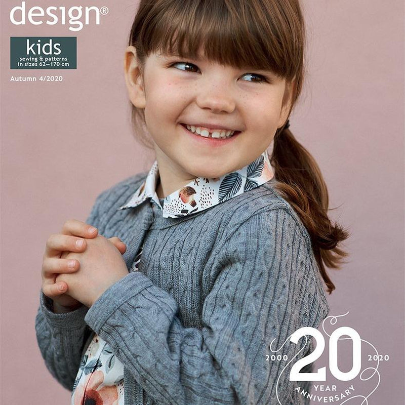 Ottobre Design Magazine Kids Autumn 04/2020 - Lilly and Mimi Fabric Shop