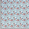 FIELD FLOWERS IN LIGHT BLUE COTTON JERSEY - Lilly and Mimi Fabric Shop