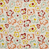 MUSTARD FLORAL COTTON CORDUROY FABRIC