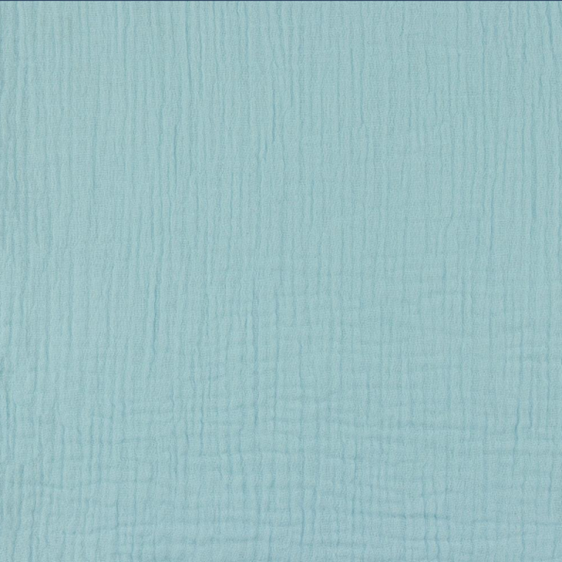 Light Blue Double Gauze Fabric