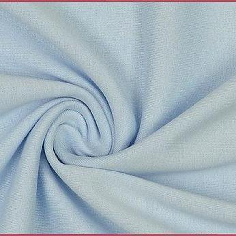 Light Blue Plain Sweatshirt - Lilly and Mimi Fabric Shop