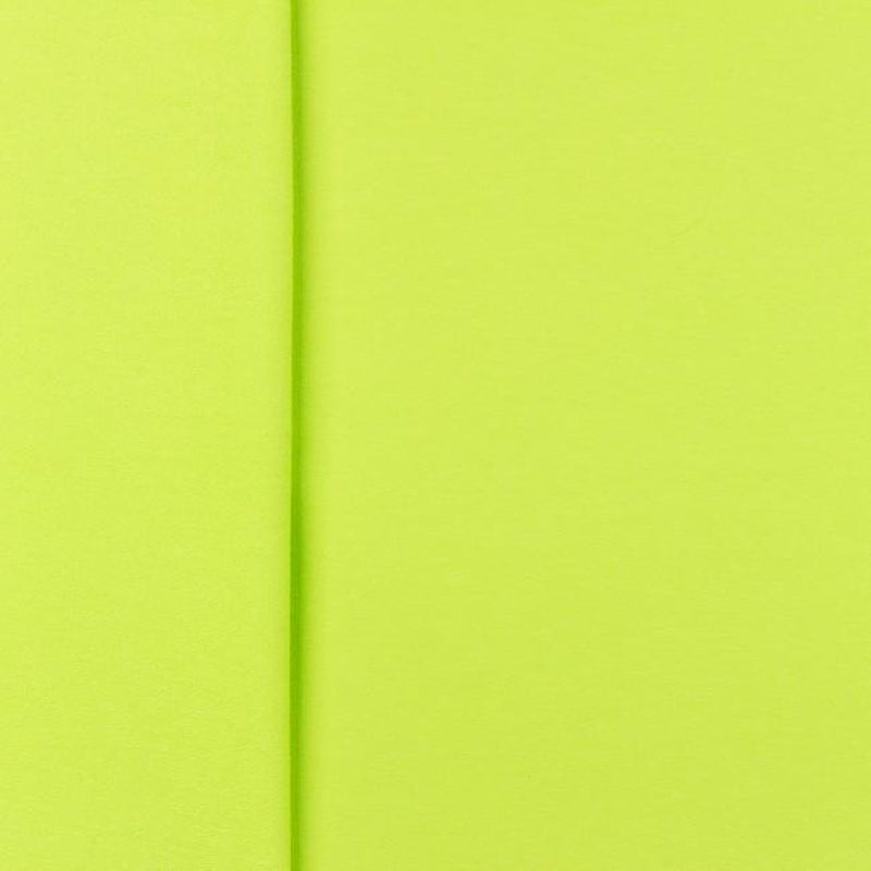 SOLID FRENCH TERRY KNIT FABRIC - LIME