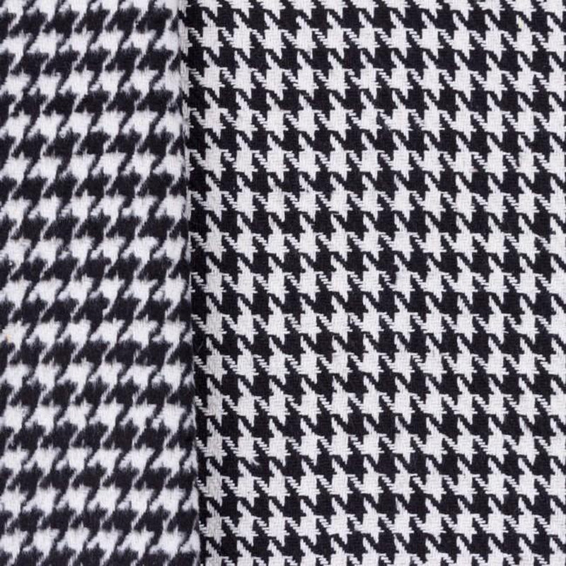 EXTRA HEAVY HOUNDSTOOTH COAT FABRIC