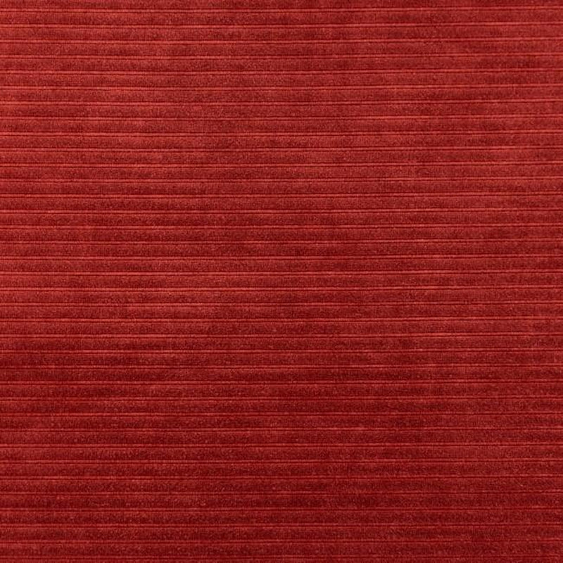 RED VELOURS JERSEY COTTON CORDUROY - Lilly and Mimi Fabric Shop