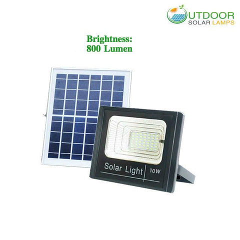 10W F-Series Solar Flood Light