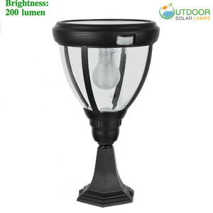 Solar Modern Pillar Light