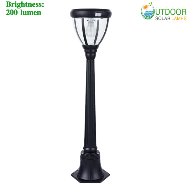 Solar Lamp Post With 40 Inch Height