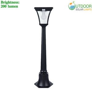 Solar Lamp Post with 38 inch Height