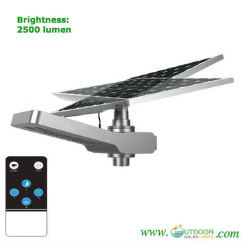 Commercial Solar Nighthawk Street Light