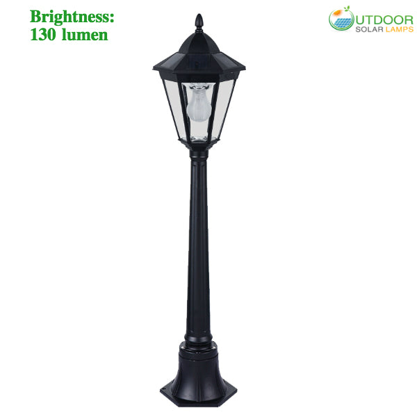 Solar Lamp Post With 44 in Height
