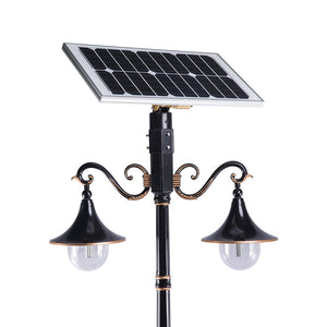 Classic Aesthetic Solar Lamp Post Light