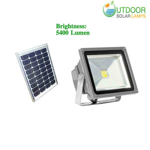 Super Bright Solar Flood Light W/5400 Lumen