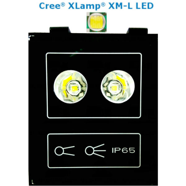 Premium Super CREE XML 5050 LED Flagpole Light W/2200 lm