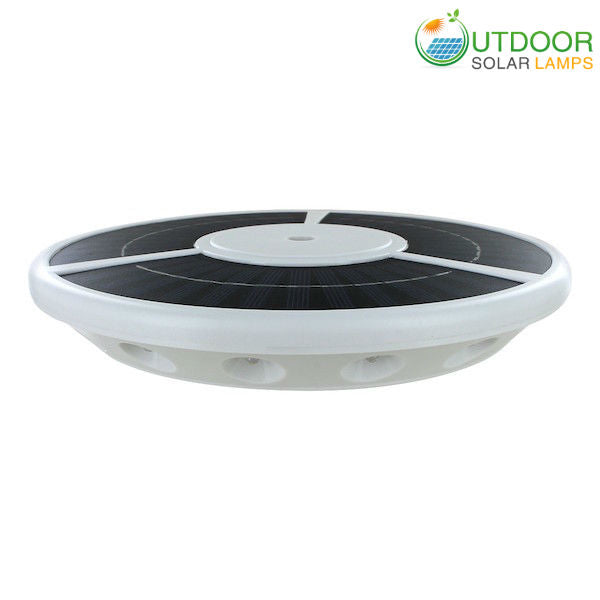 commercial Solar Top disk Flag Pole Light