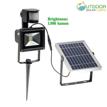 Motion Sensor Commercial Spot Light With Hight Lumen 1300lm