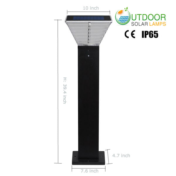 Solar bollard light OSL-B008