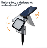 solar adjustable garden spotlight