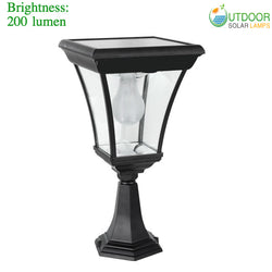 Solar lantern pillar Light
