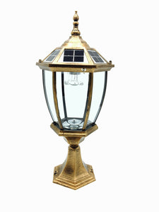 Die Casting Aluminum Solar Post Cap light Auto ON/OFF From dust to dawn