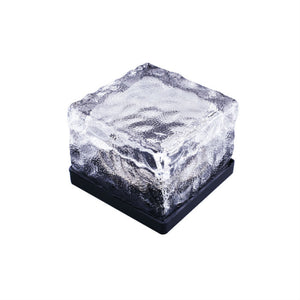solar ice brick lights
