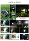 25W F-Series Solar Flood Light W/Remote Controller