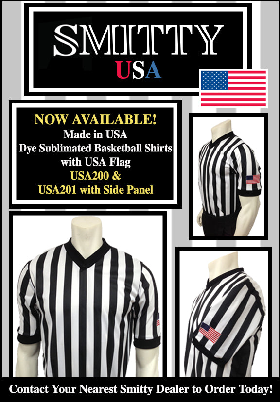 Usa201-Smitty Dyesub Basketball Shirt with side panel