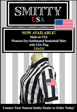 Usa211-Smitty Dyesub women's basketball shirt with side panel
