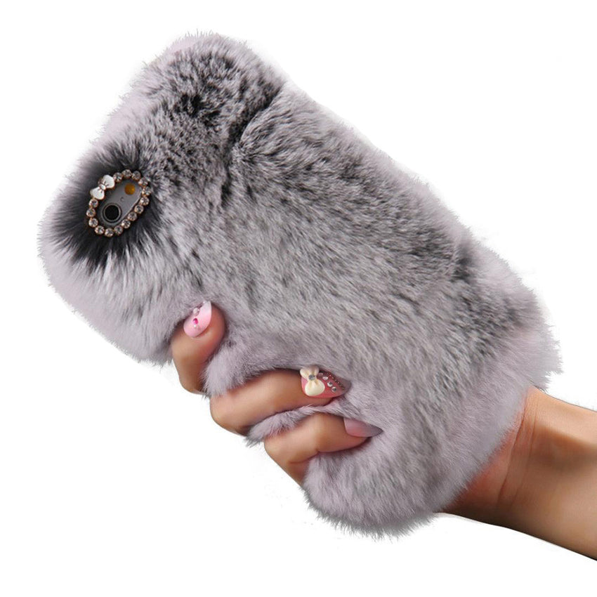Fluffy Hair Cover for iPhone Models