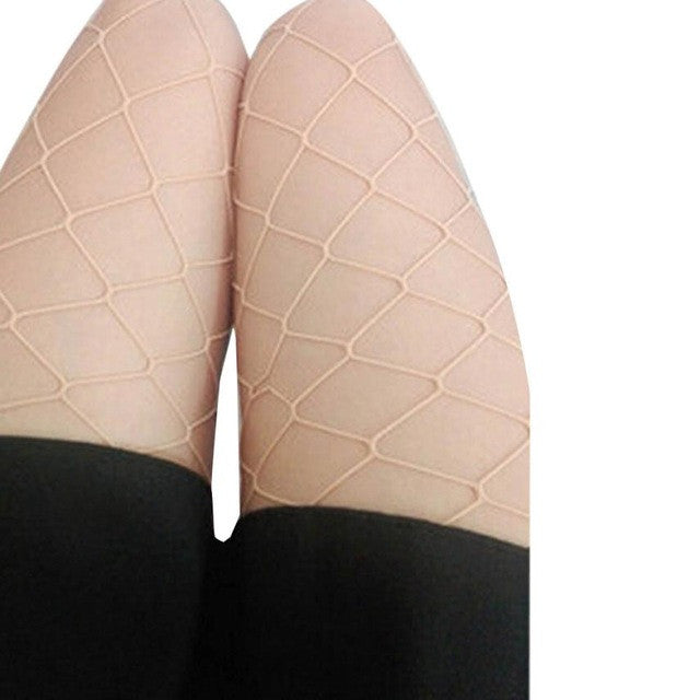 Sexy Stockings New 2017 Women Sexy Hosiery  Fishnet Elastic Thigh High Stockings Pantyhose Tights Long