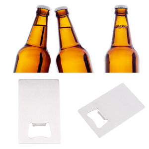 Wallet Size Bottle Opener