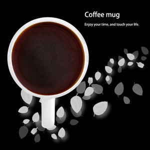 2017 Funny Middle Finger Cat Mark Cup Ceramic Foam Box Pack Drink Milk Coffee Teacup Drinkware Supplies Accessories Mug Gifts