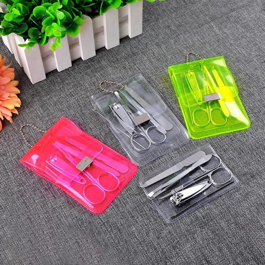 5pcs Nail Care Cutter Kit Set Cuticle Clippers Pedicure Manicure Tool