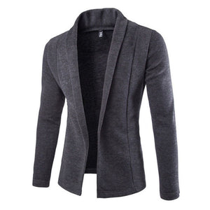 Cardigan for Winter - Men Long Sleeve Sweater