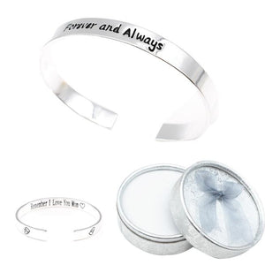 1 PC Women Bracelets Jewelry Love Heart Bangle Gift