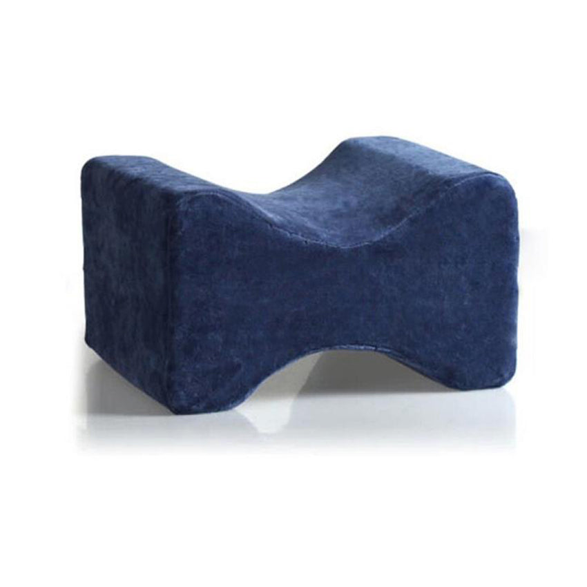 Clip Leg Pillow Foot Pillow Memory Foam Rubber MATS Use Legs Blue