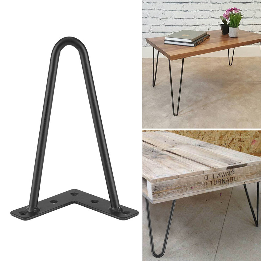 Metal Table Legs,Black Iron Table Desk Legs Home Accessories for DIY Handcrafts Furniture
