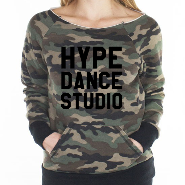 HDS Camo Cut-off Sweatshirt