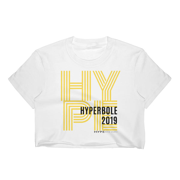 HYPErbole Crop Top (Junior sizes S-XL)