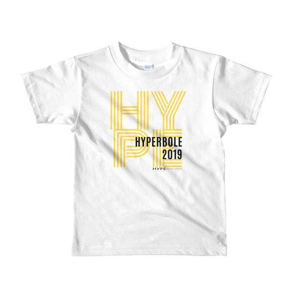 HYPErbole Kids (sizes 2-6) Short sleeve t-shirt