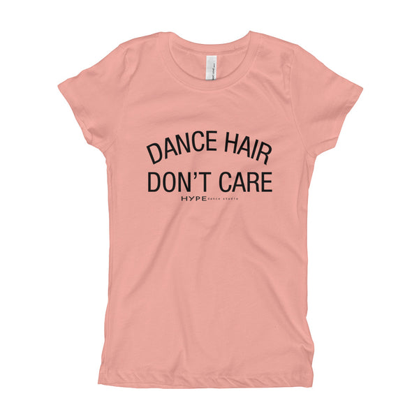 Don't Care Girl's T-Shirt