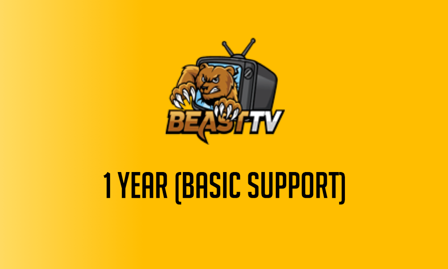 12 Month Beast TV Hosted Service (Basic)