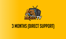 3 Month Beast TV Hosted Service (Direct Support)