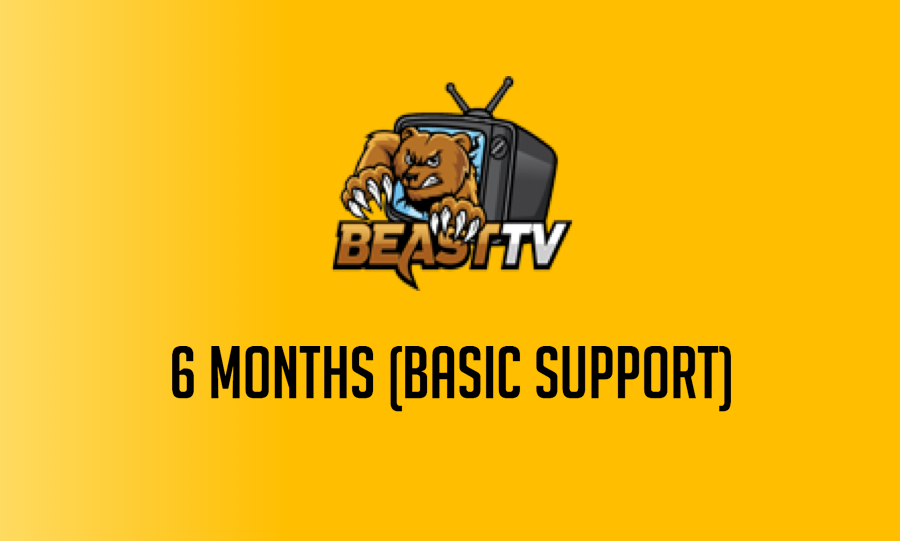 6 Month Beast TV Hosted Service (Basic)