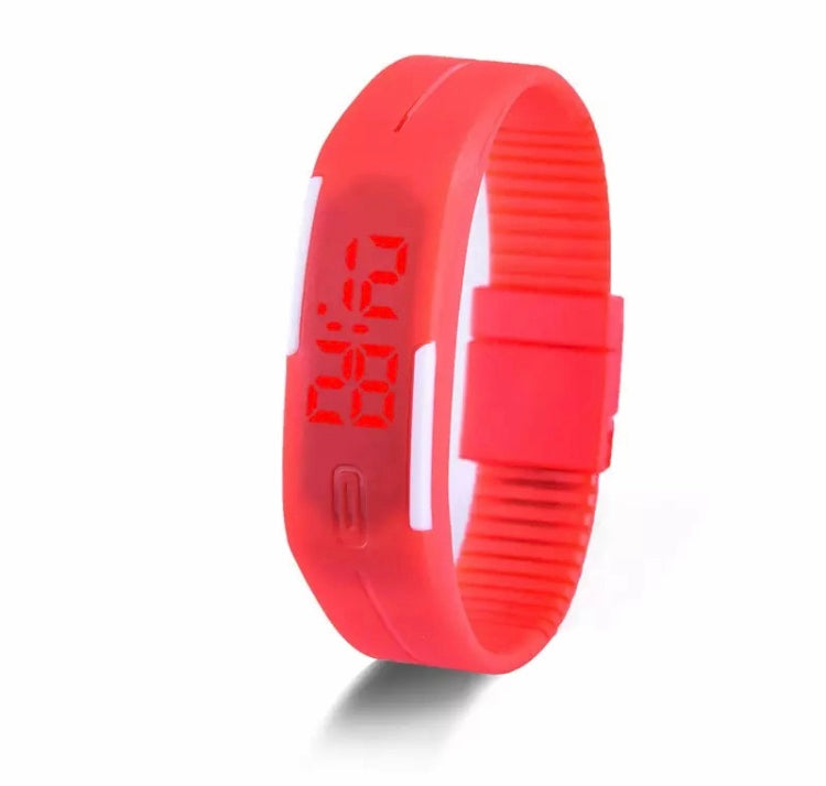 Gama Watches™ Reloj Pulsera Touch Led Digital. Rojo