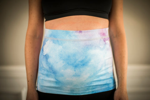 Maternity Belly Band - Watercolour