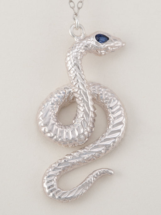 Talisman collection tagged kundalini veronica carrillo jewelry kundalini serpent necklace sterling silver sapphire aloadofball Images