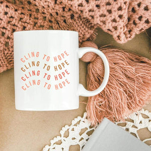 Cling to Hope Mug | Salted Brew Shop