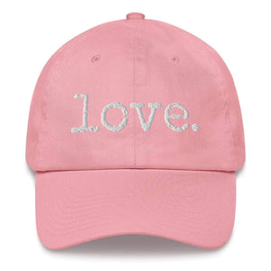 Love. Ball Cap - Pink - Ballcap